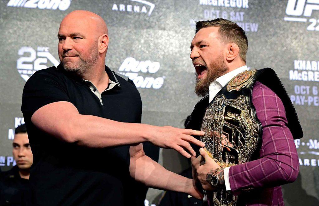 Dana & Conor (press conference)