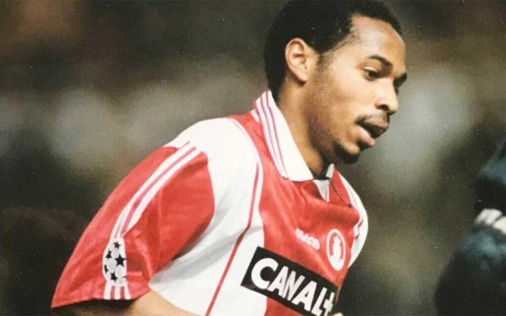 Thiery Henry At French Club Monaco