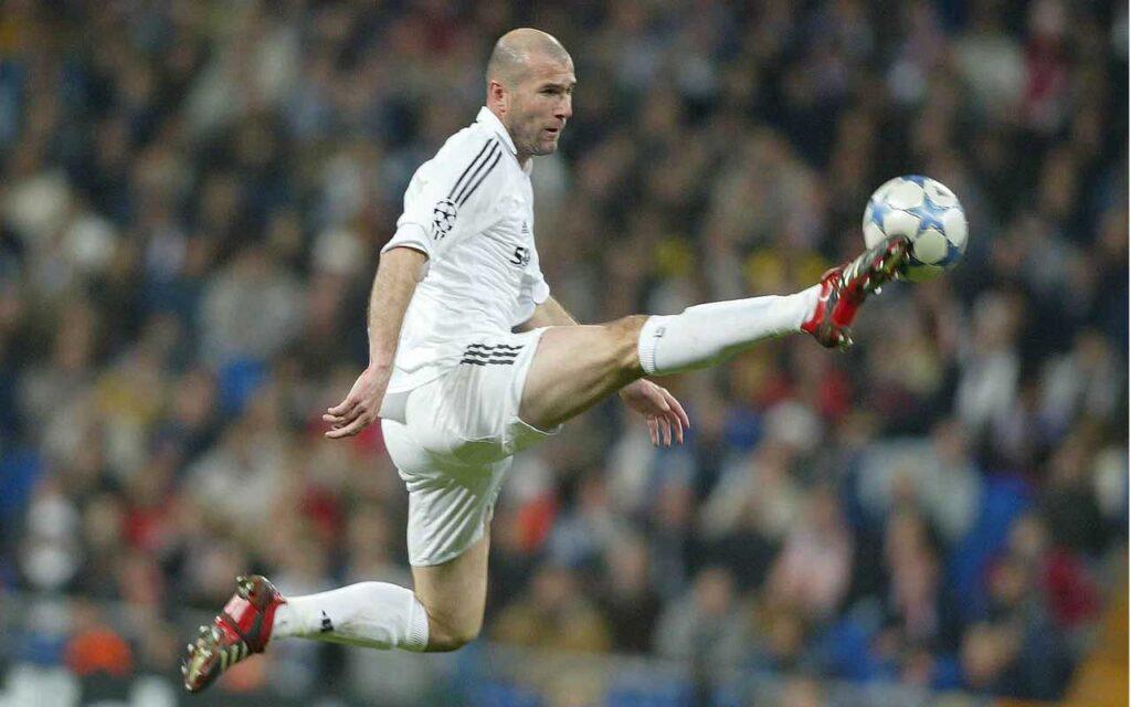 Zidane on Paul Scholes