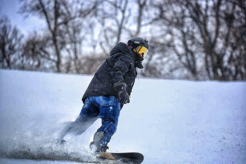 Fabio Cannavaro Snowboarding