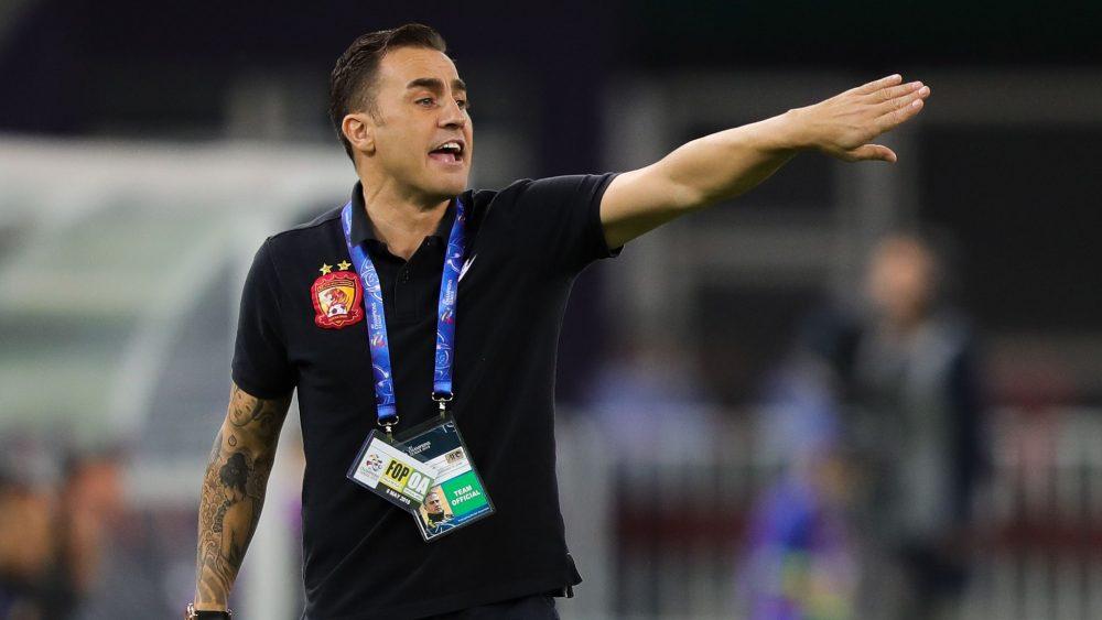 Fabio Cannavaro Manager