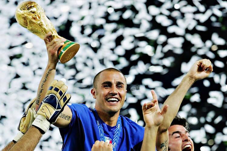 Cannavaro World Cup