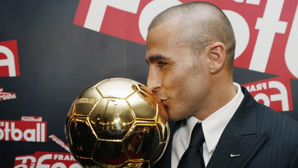 Fabio Cannavaro net worth and Ballon d'Or