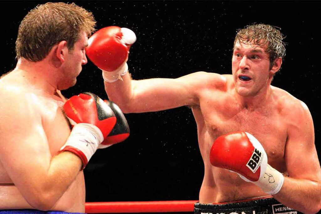 Tyson Fury vs John Mcdermott