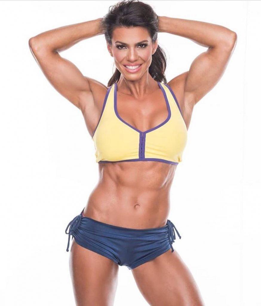 Mike O'Hearn's Wife - Mona Muresan (Fitness Model)