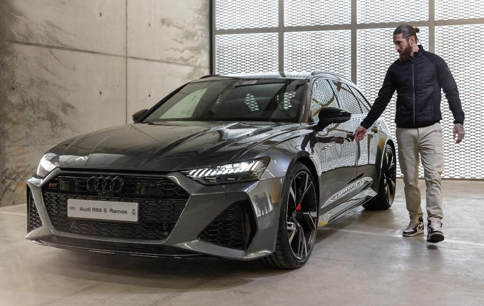 Sergio Ramos cars - Audi RS6 Avant