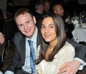 George Groves and his wife Sophie Groves